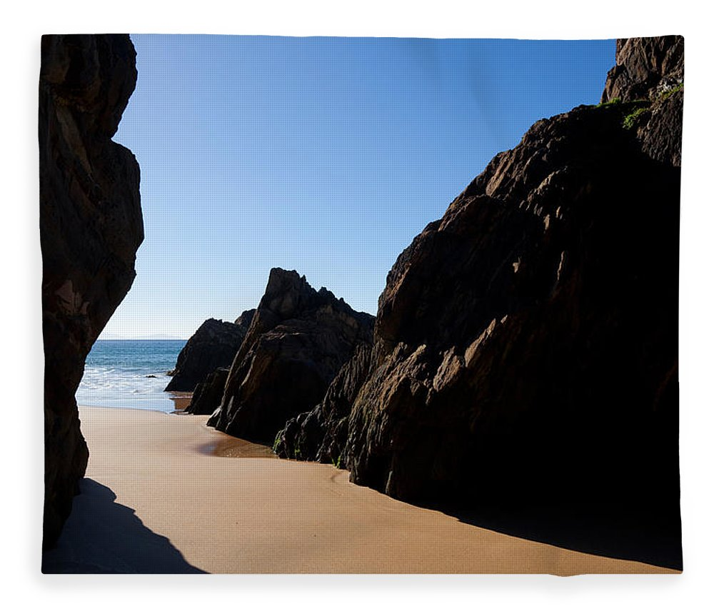 Photography Fleece Blanket featuring the photograph Coumeenoole Beach Slea Head Dingle by Panoramic Images