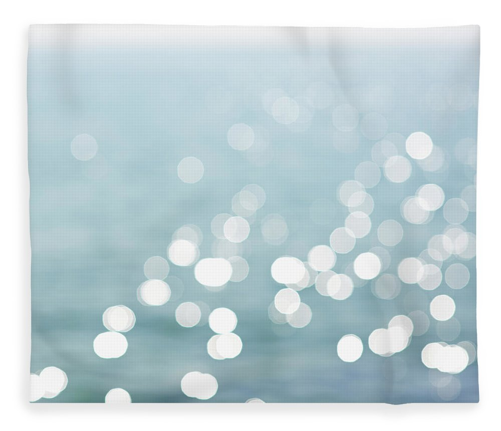 Dreamlike Fleece Blanket featuring the photograph Defocused View Of Sea by Dougal Waters