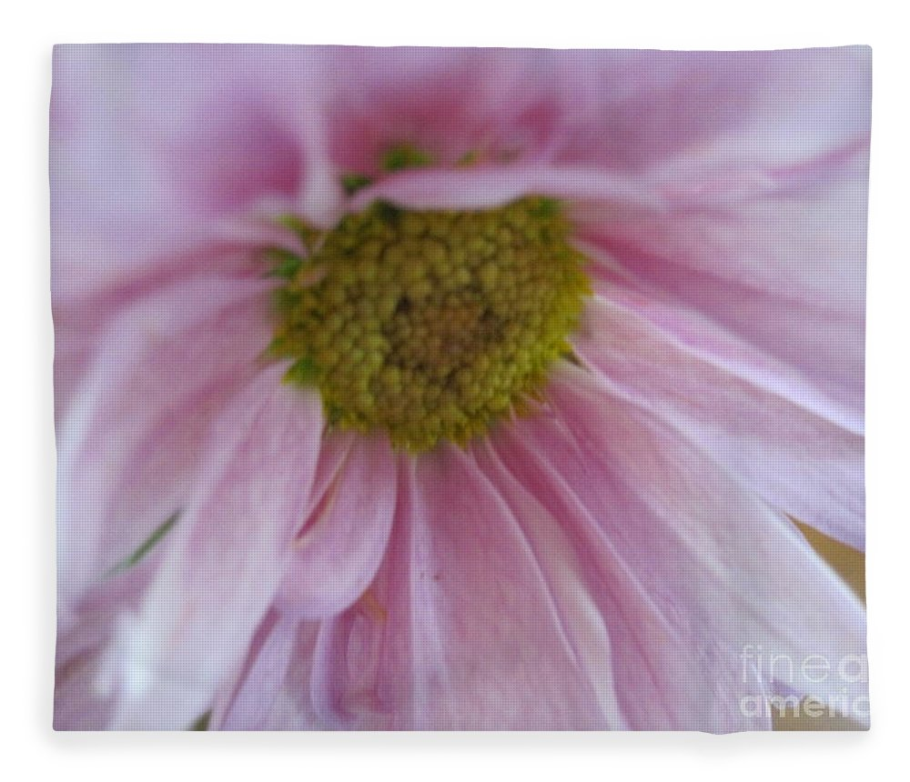 Floral Fleece Blanket featuring the photograph Delicate Pink by Tara Shalton