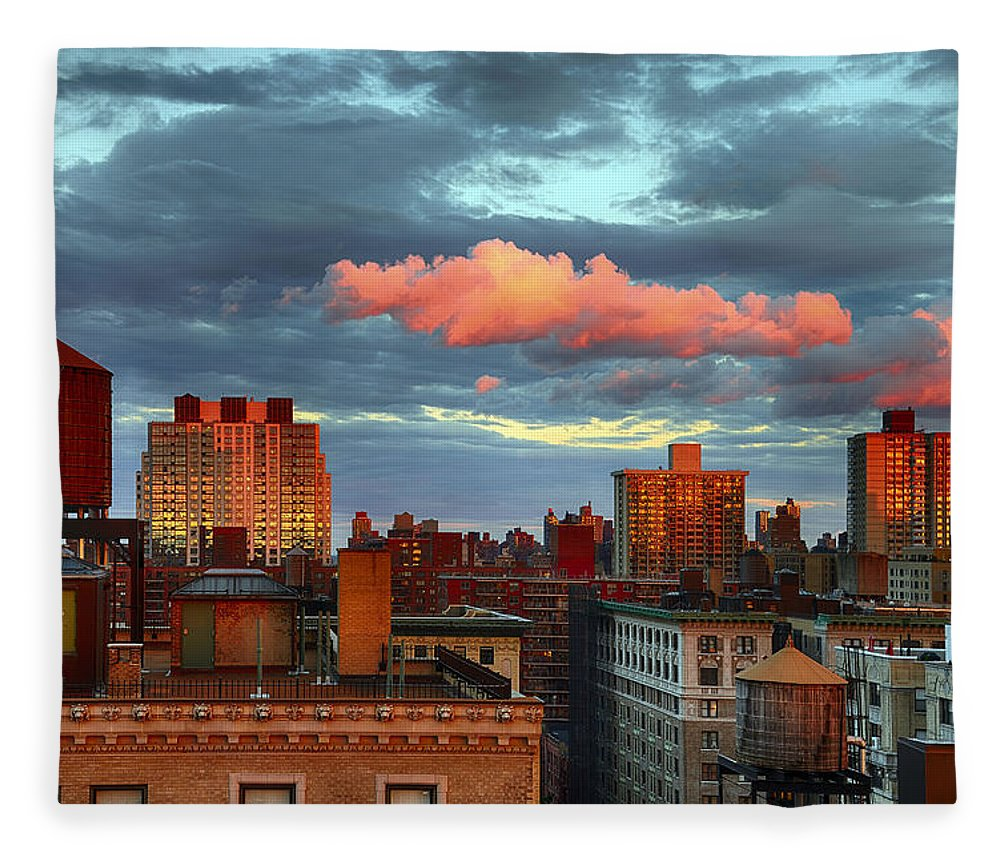 Tranquility Fleece Blanket featuring the photograph Facing East by Joe Josephs Photography
