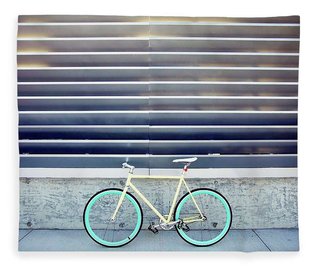 Tranquility Fleece Blanket featuring the photograph Fixie by I Love Taking Photo