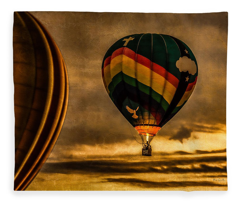 Amazing Grace Fleece Blanket featuring the photograph Following Amazing Grace by Bob Orsillo