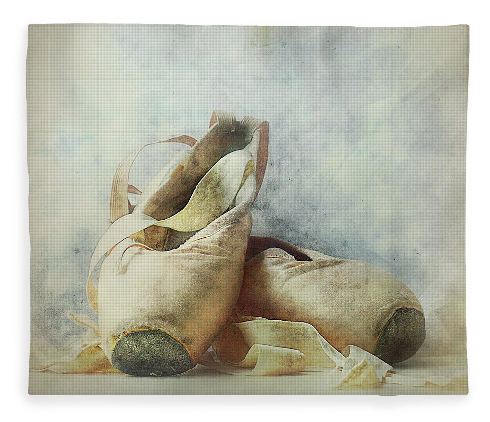 Netherlands Fleece Blanket featuring the photograph Her Life, Her World....her Shoes by Bob Van Den Berg Photography