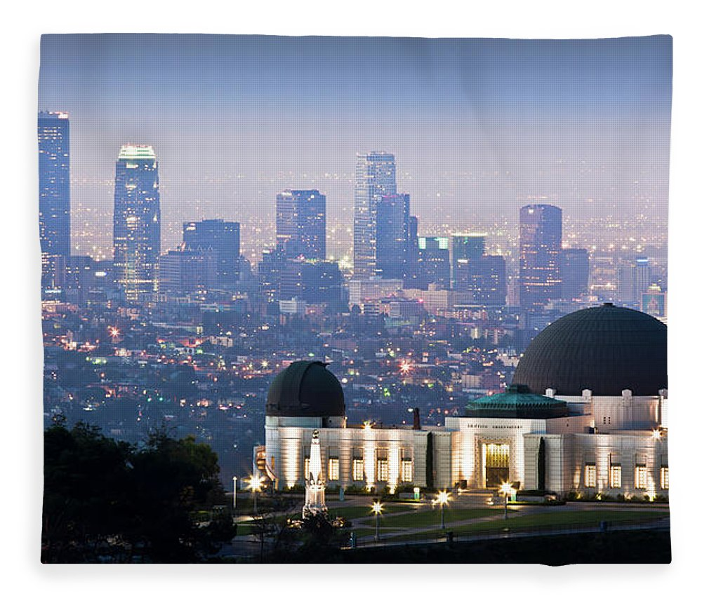 Downtown District Fleece Blanket featuring the photograph Higher Ground by Andrew Kennelly