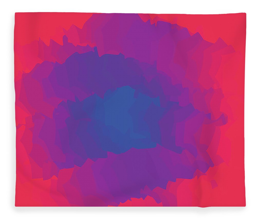 Presentation Fleece Blanket featuring the digital art Inferno Background by Calvindexter