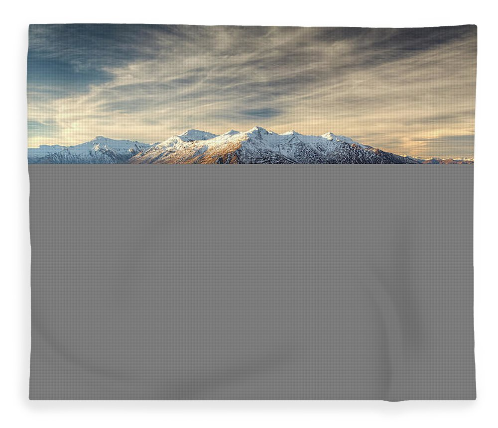 Tranquility Fleece Blanket featuring the photograph Landscape Of Wanaka by Joao Inacio