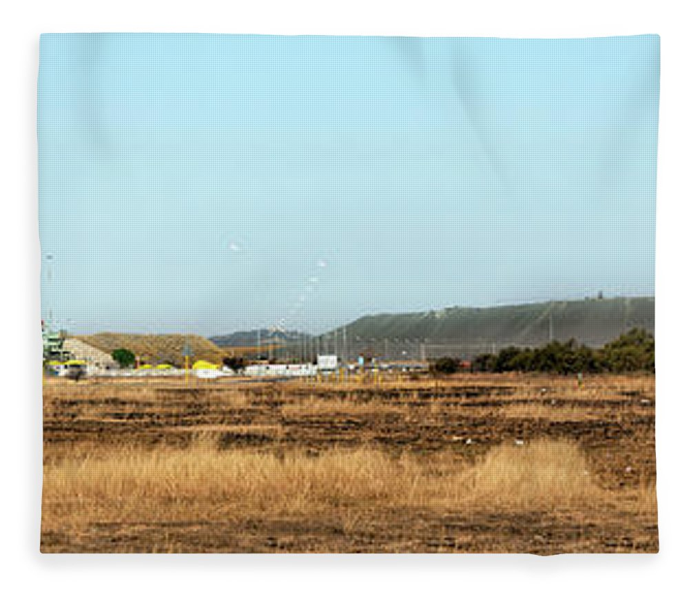 Mineral Fleece Blanket featuring the photograph Lonmin Mine Near Marikana by Thegift777