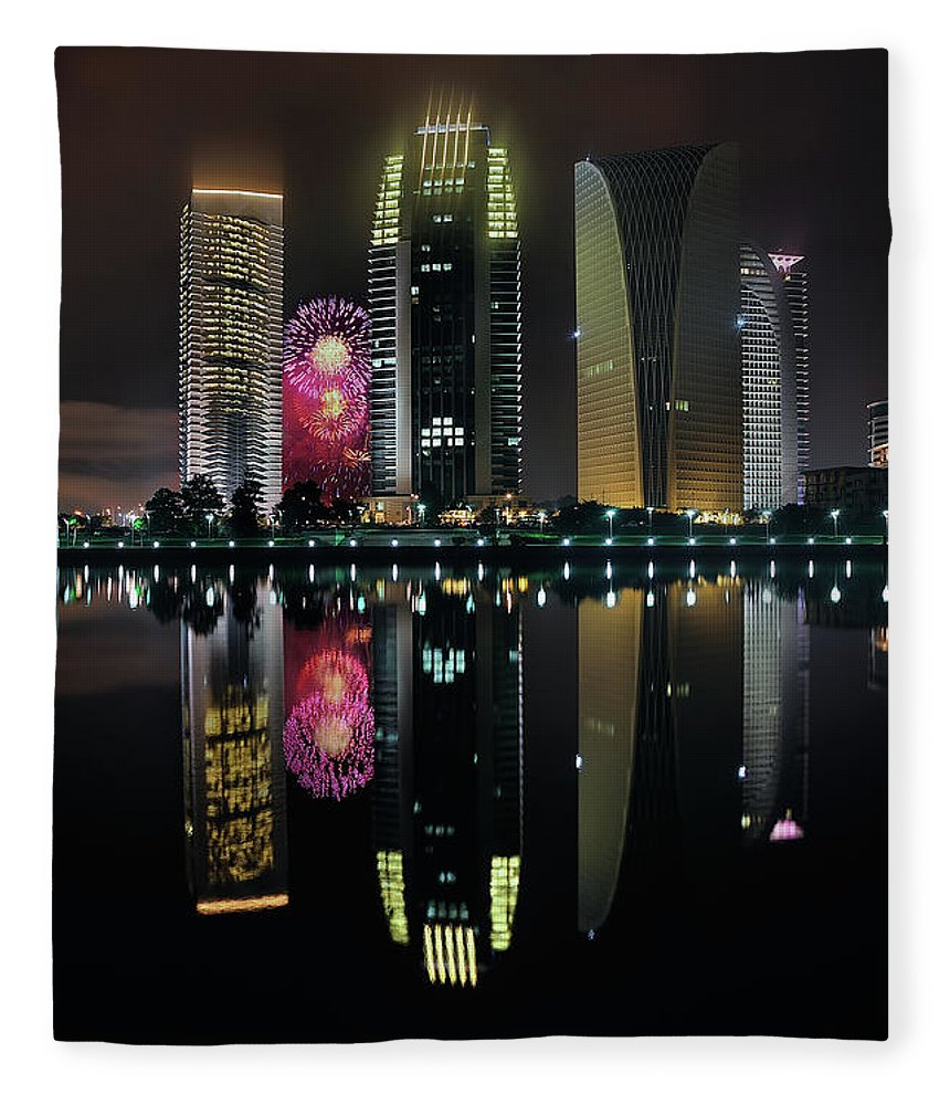 Tranquility Fleece Blanket featuring the photograph Malaysia 56th Independence Day by Photography By Azam Alwi