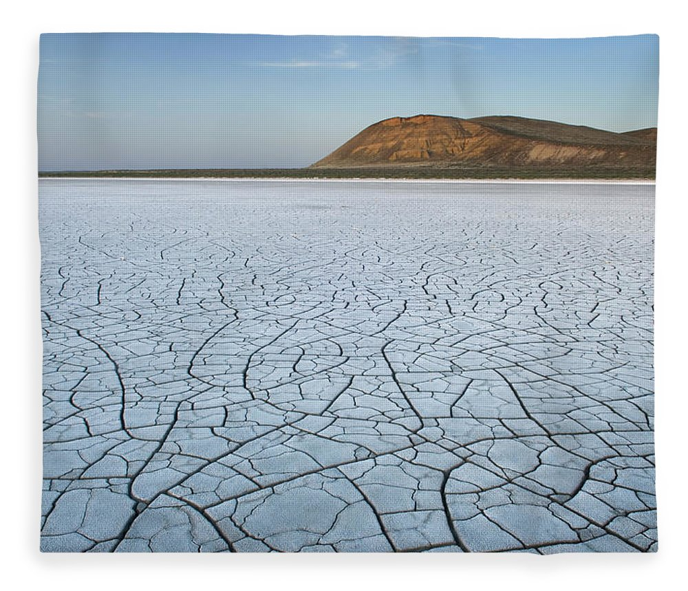 Tranquility Fleece Blanket featuring the photograph Malheur National Wildlife Refuge, Oregon by Alan Majchrowicz