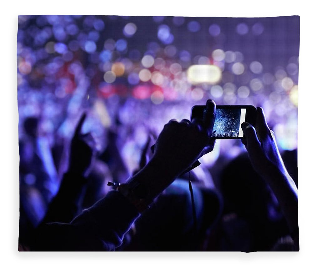 Event Fleece Blanket featuring the photograph Never Forget This Moment by Peopleimages