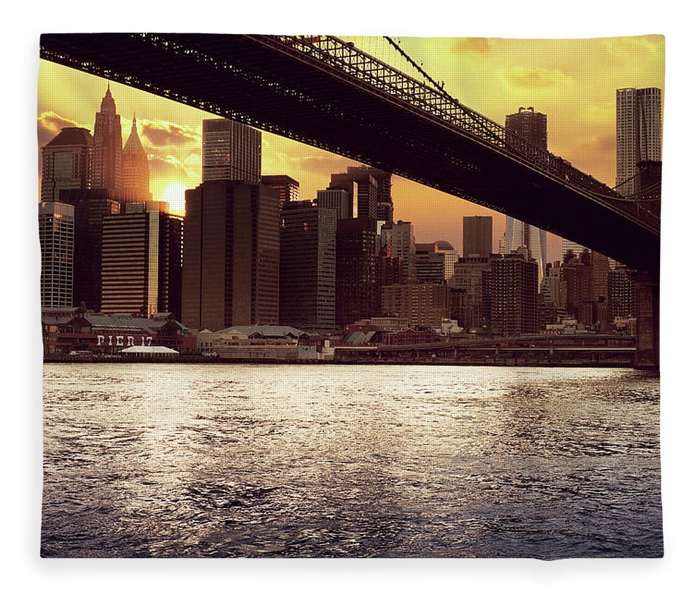 Tranquility Fleece Blanket featuring the photograph New Beginnings by Aleks Ivic Visuals
