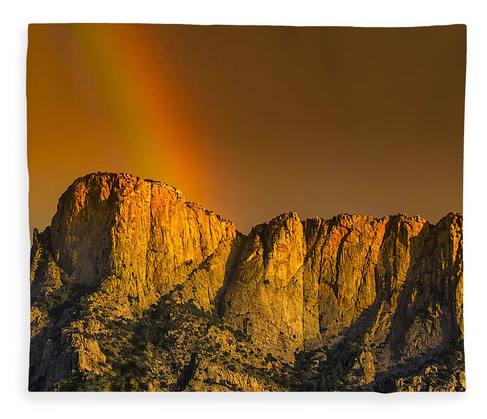Acrylic Prints Fleece Blanket featuring the photograph Pot Of Gold by Mark Myhaver