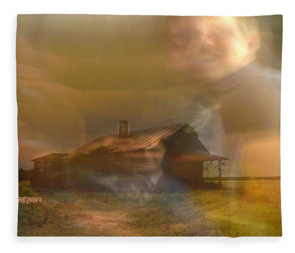 Remember Fleece Blanket featuring the digital art Remember by Seth Weaver