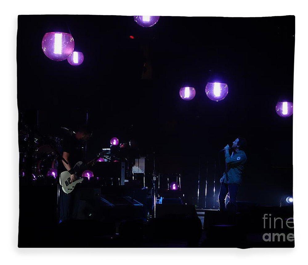 Pearl Jam Fleece Blanket featuring the photograph Sirens by Linda De La Rosa