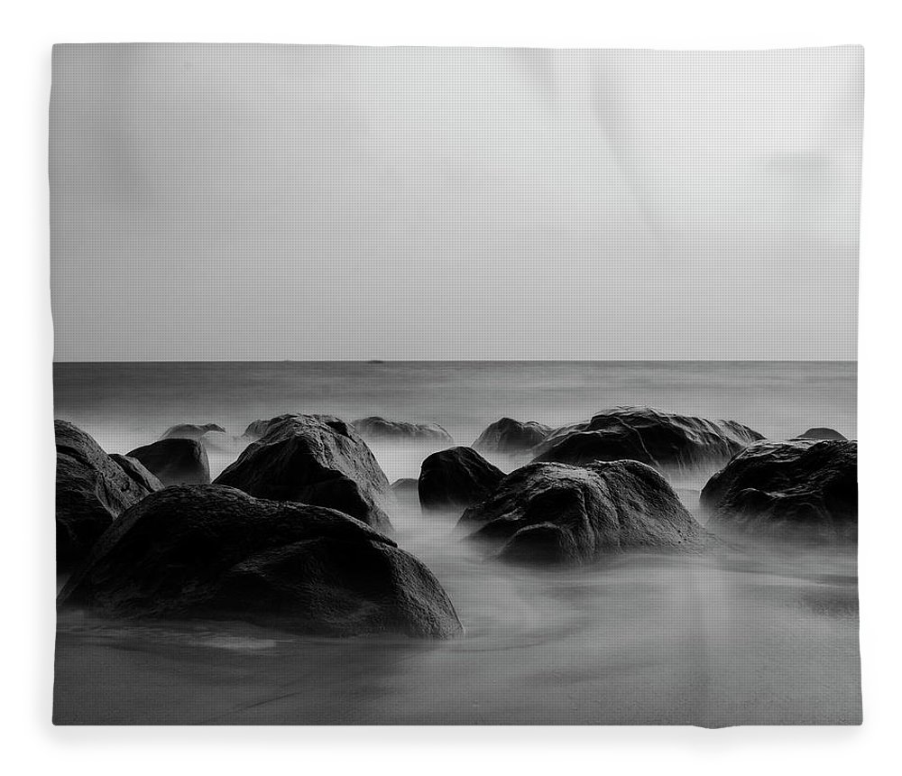 Scenics Fleece Blanket featuring the photograph Song Of Nature by Madhusudanan Parthasarathy