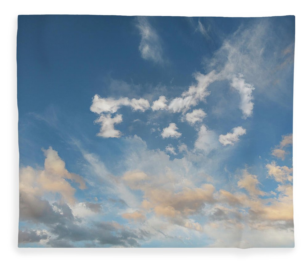 California Fleece Blanket featuring the photograph The Key To Cloud Computing by John Lund