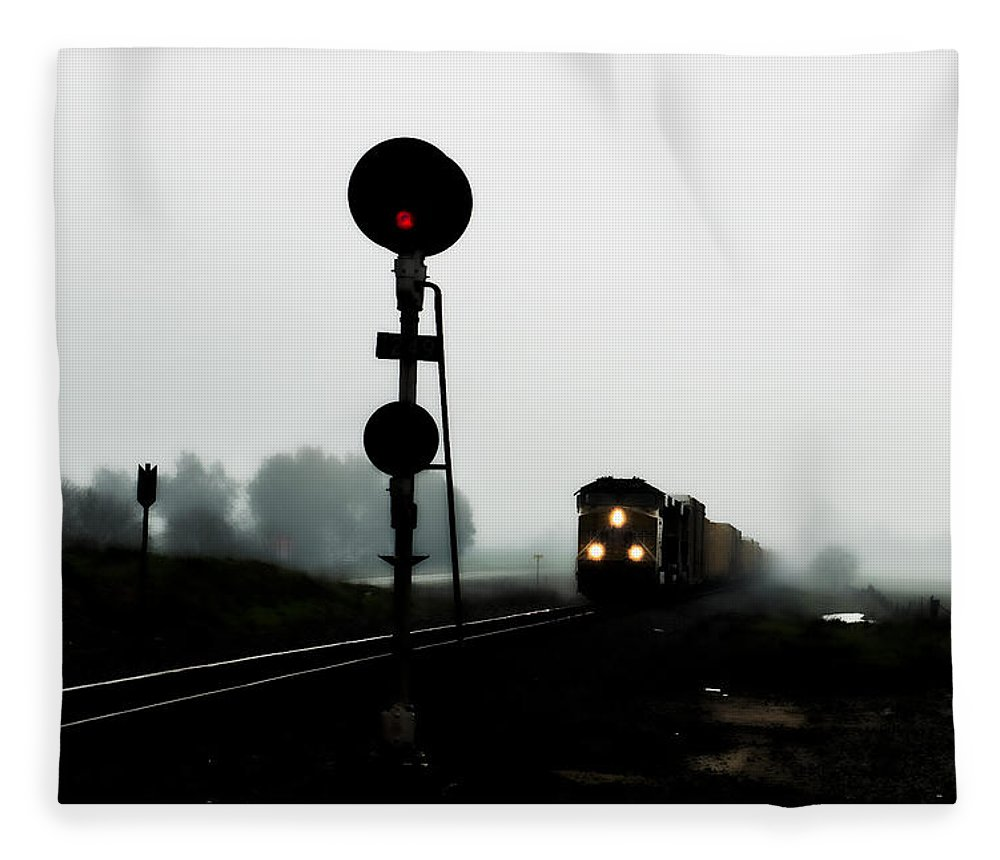 California Fleece Blanket featuring the photograph Up 8057 by Jim Thompson