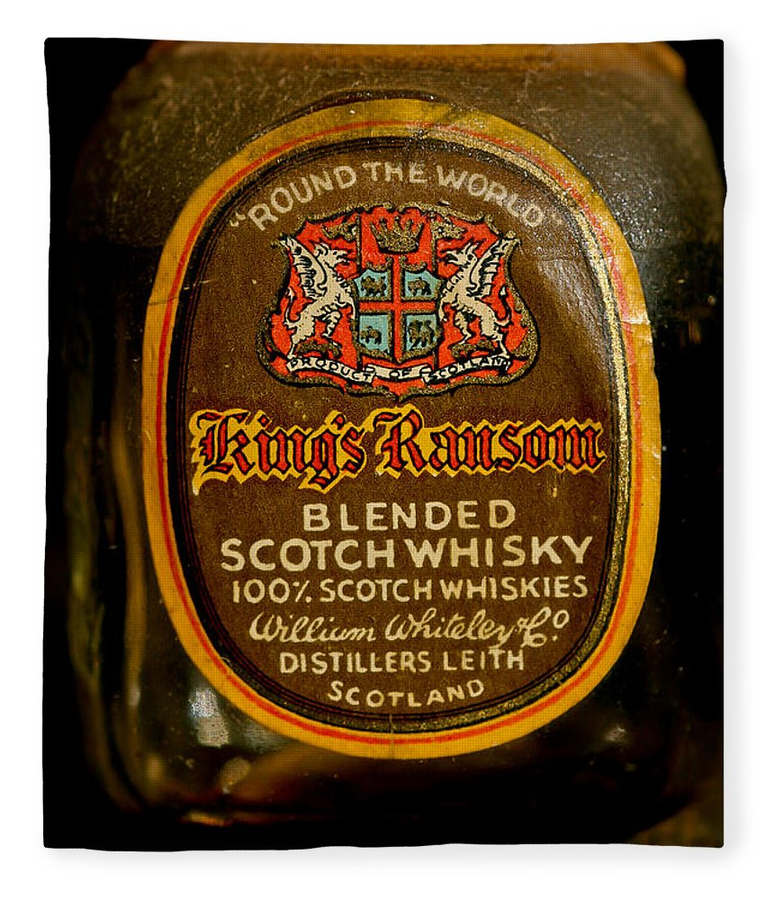 Scotch Whisky Fleece Blanket featuring the photograph Scotch Whisky by Mitch Shindelbower