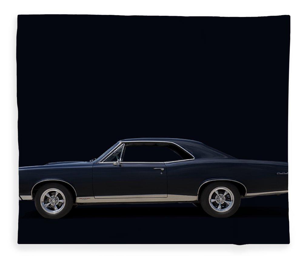 Transportation Fleece Blanket featuring the digital art 67 Gto by Douglas Pittman