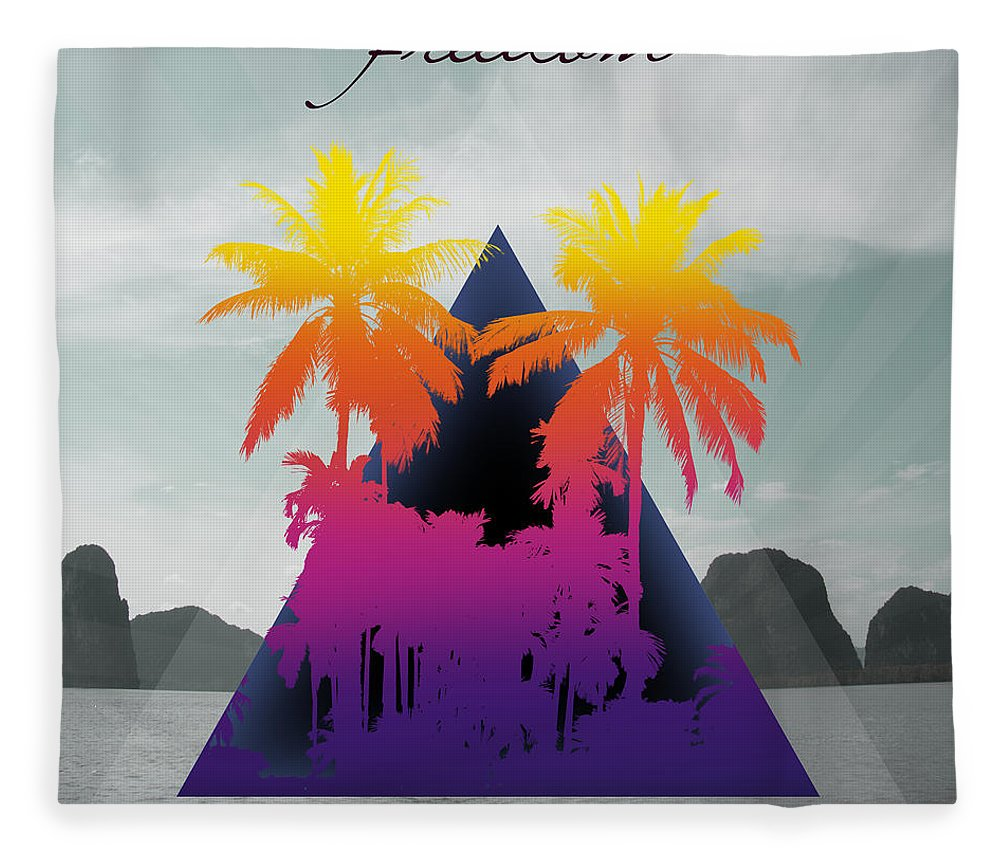 Thailand Fleece Blanket featuring the photograph Freedom by Mark Ashkenazi