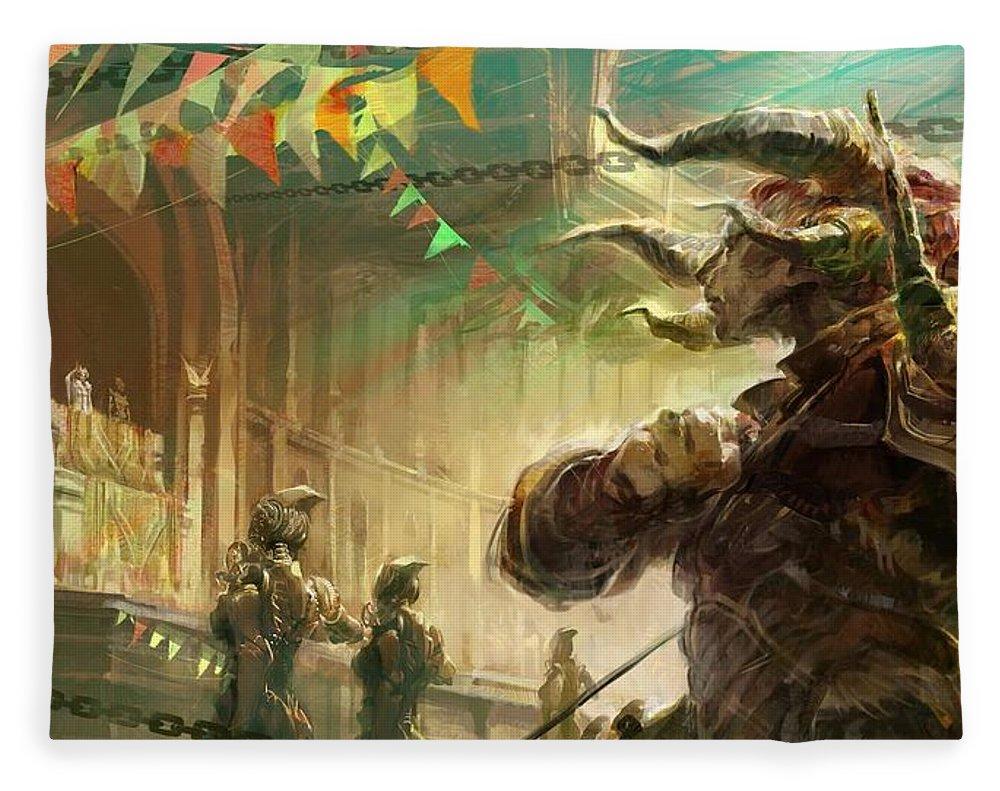 Guild Wars 2 Fleece Blanket
