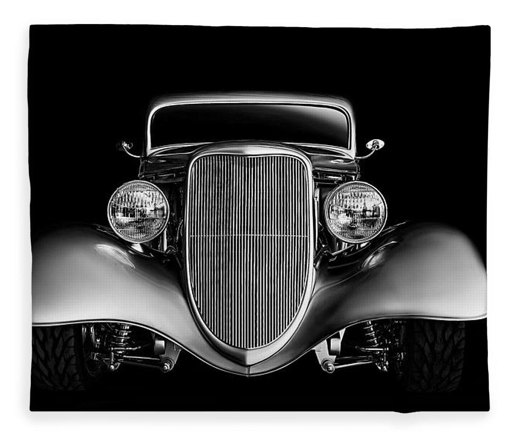 33 Ford Hotrod Fleece Blanket for Sale by Douglas Pittman