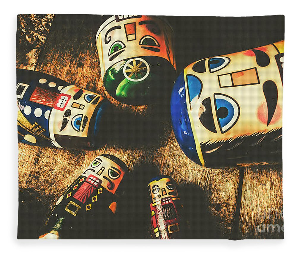 Still Life Fleece Blanket featuring the photograph Brainstorming Game by Jorgo Photography - Wall Art Gallery
