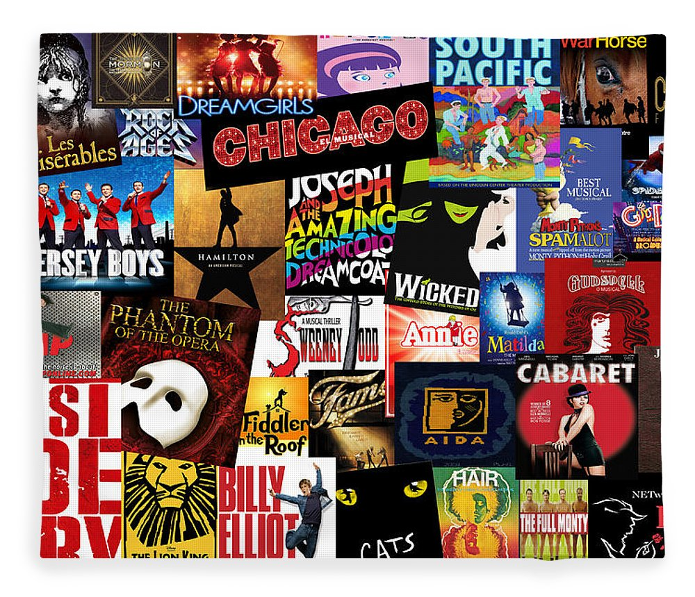 Broadway Fleece Blanket featuring the photograph Broadway 3 by Andrew Fare