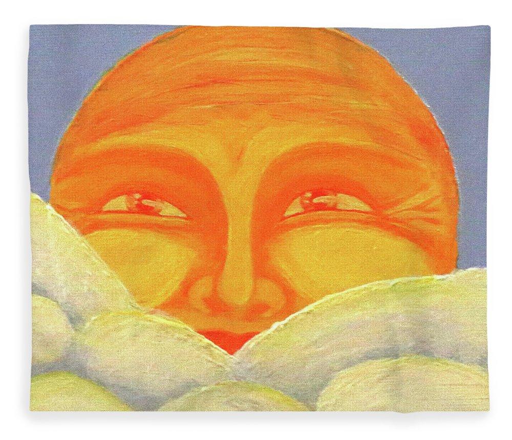 Celestial 2016 #2 Fleece Blanket