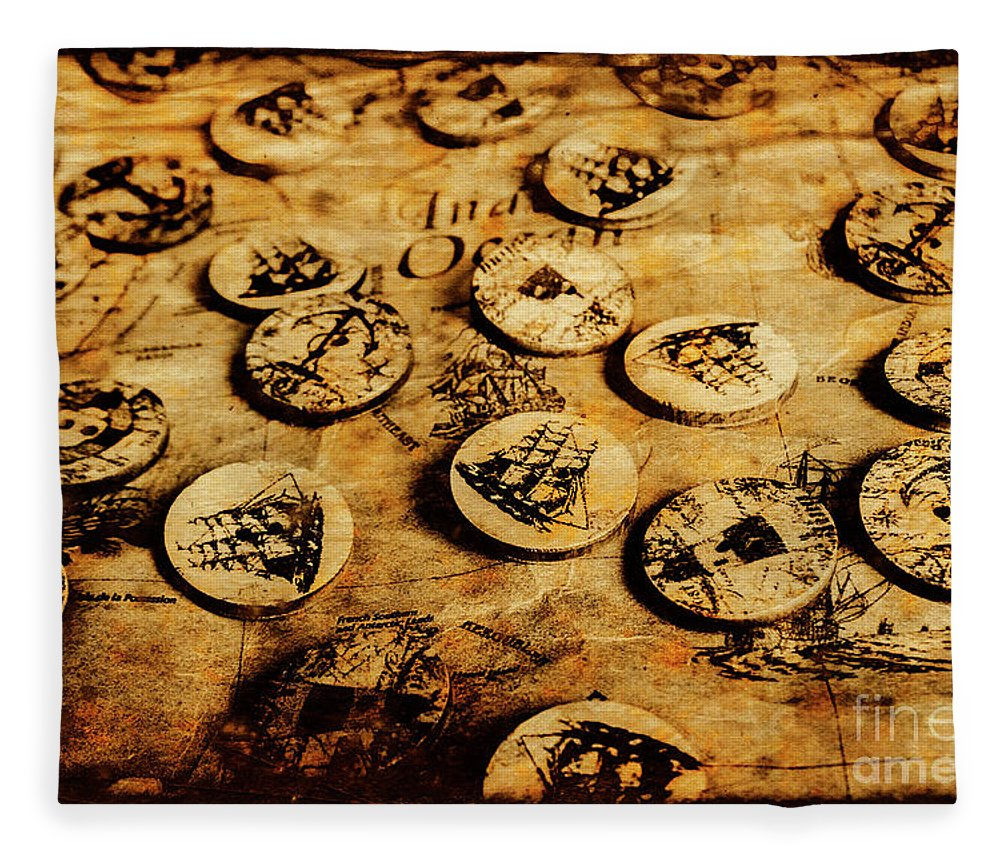 Vintage Fleece Blanket featuring the photograph Circle Sails by Jorgo Photography - Wall Art Gallery