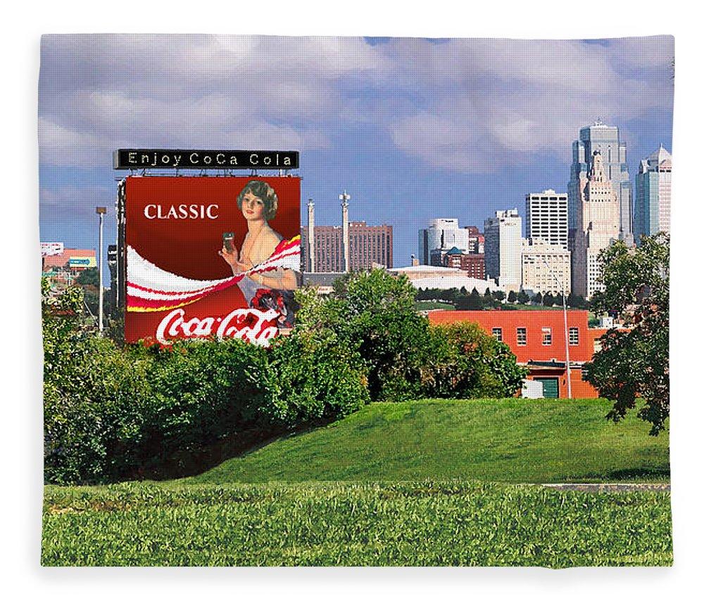 Landscape Fleece Blanket featuring the photograph Classic Summer by Steve Karol