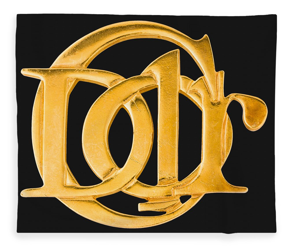 Christian Dior Fleece Blanket featuring the painting Dior Jewelry-1 by Nikita