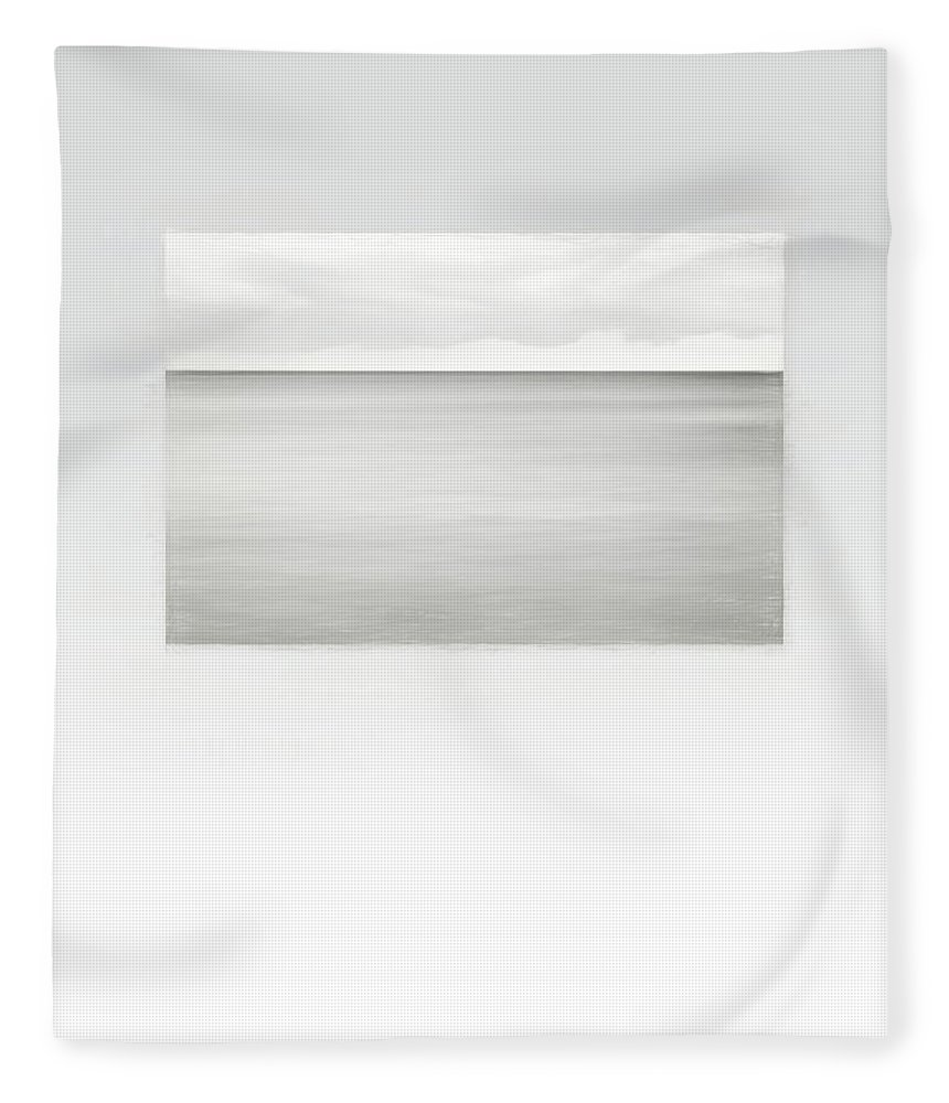 Horizon Fleece Blanket featuring the photograph Fierce Calm by Scott Norris