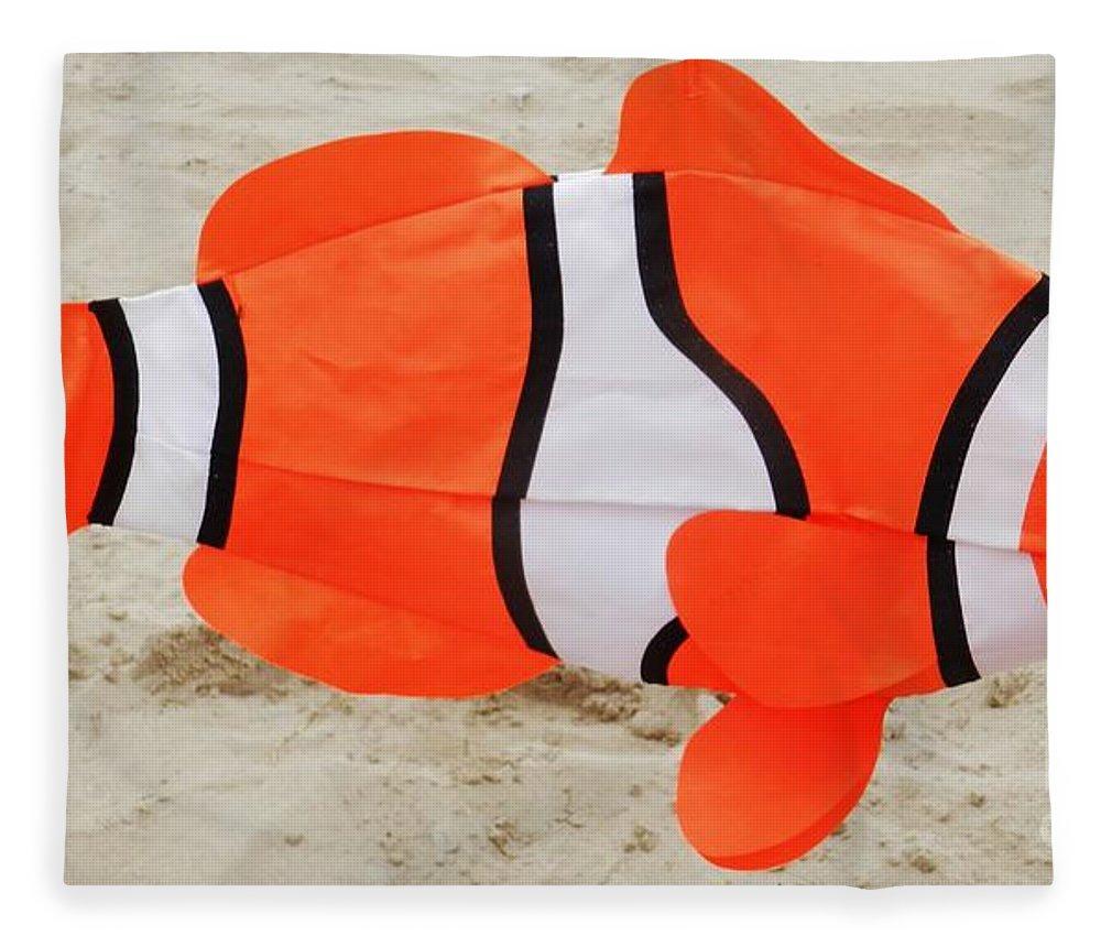 Finding Nemo Fleece Blanket featuring the photograph Finding Nemo by Snapshot Studio