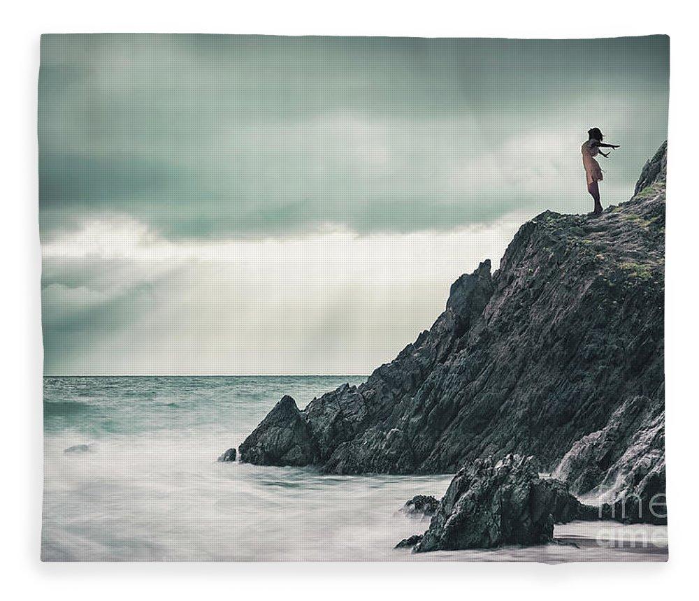 Kremsdorf Fleece Blanket featuring the photograph Freedom by Evelina Kremsdorf