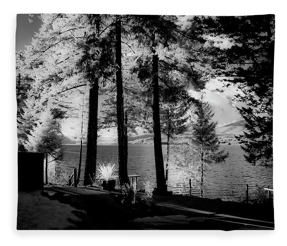 Scenic Fleece Blanket featuring the photograph Glow 2 by Lee Santa