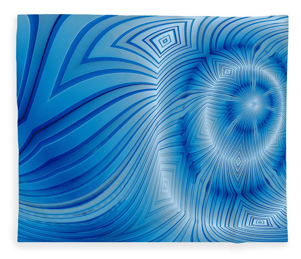 Photography Fleece Blanket featuring the photograph Into The Mystic by Paul Wear