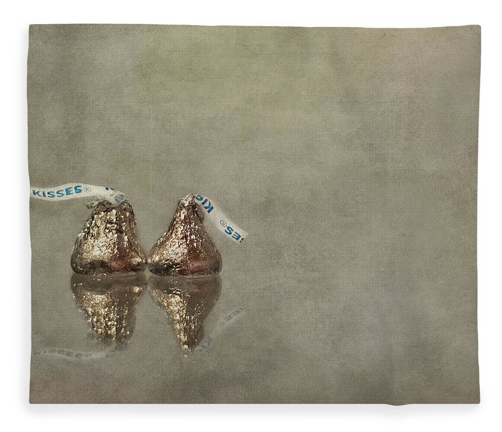 Kiss Fleece Blanket featuring the photograph Kisses by Evelina Kremsdorf