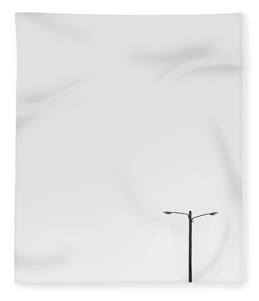 Lamp Fleece Blanket featuring the photograph Lighting The Way by Scott Norris