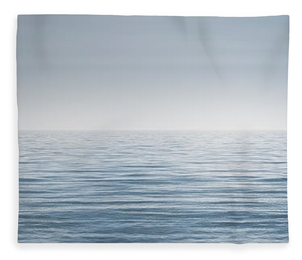 Water Fleece Blanket featuring the photograph Limitless by Scott Norris