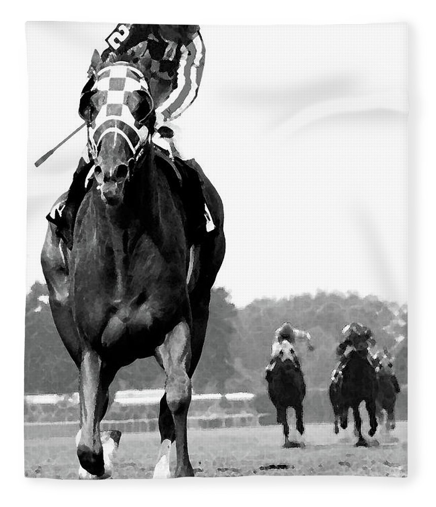 Secretariat Fleece Blankets Fine Art America