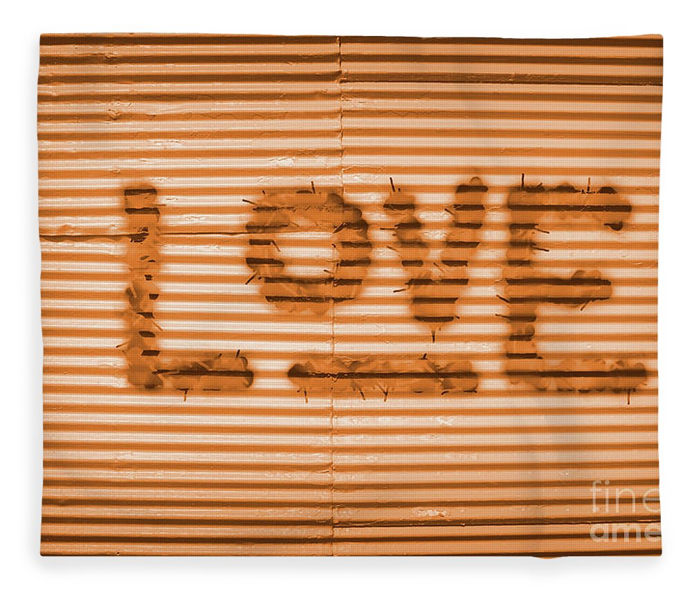 Grafitti Fleece Blanket featuring the photograph Love Is All by Jorgo Photography - Wall Art Gallery