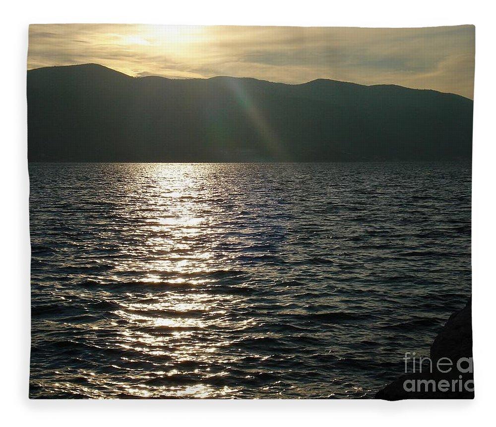 Croatia Fleece Blanket featuring the photograph Make a wish by De La Rosa Concert Photography