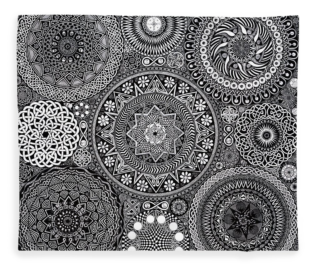 Modern Mandala Bouquet Image Collection - Coloring Page Ideas ...
