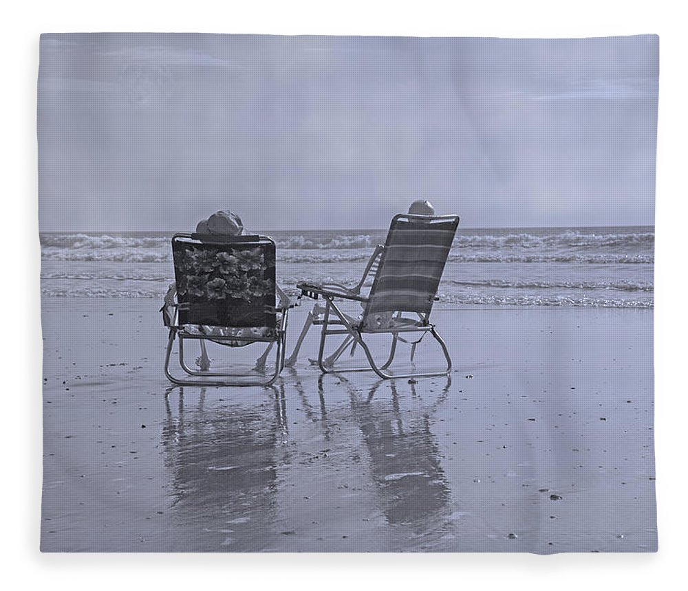 Chair Fleece Blanket featuring the photograph Match Made In Heaven by Betsy Knapp