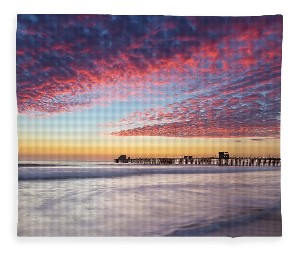 Beach Fleece Blanket featuring the photograph Of Milk Shakes And Cotton Candy by Peter Tellone
