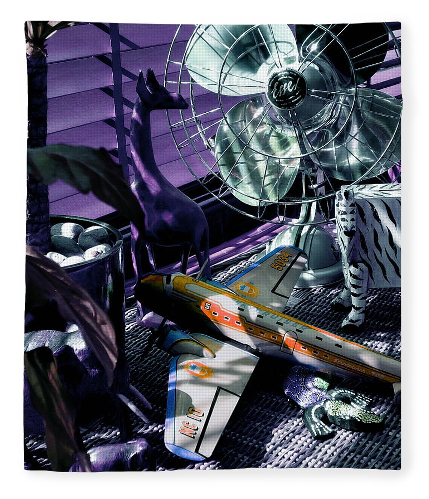 Still Life Fleece Blanket featuring the photograph Only Angels Have Wings by Charles Stuart