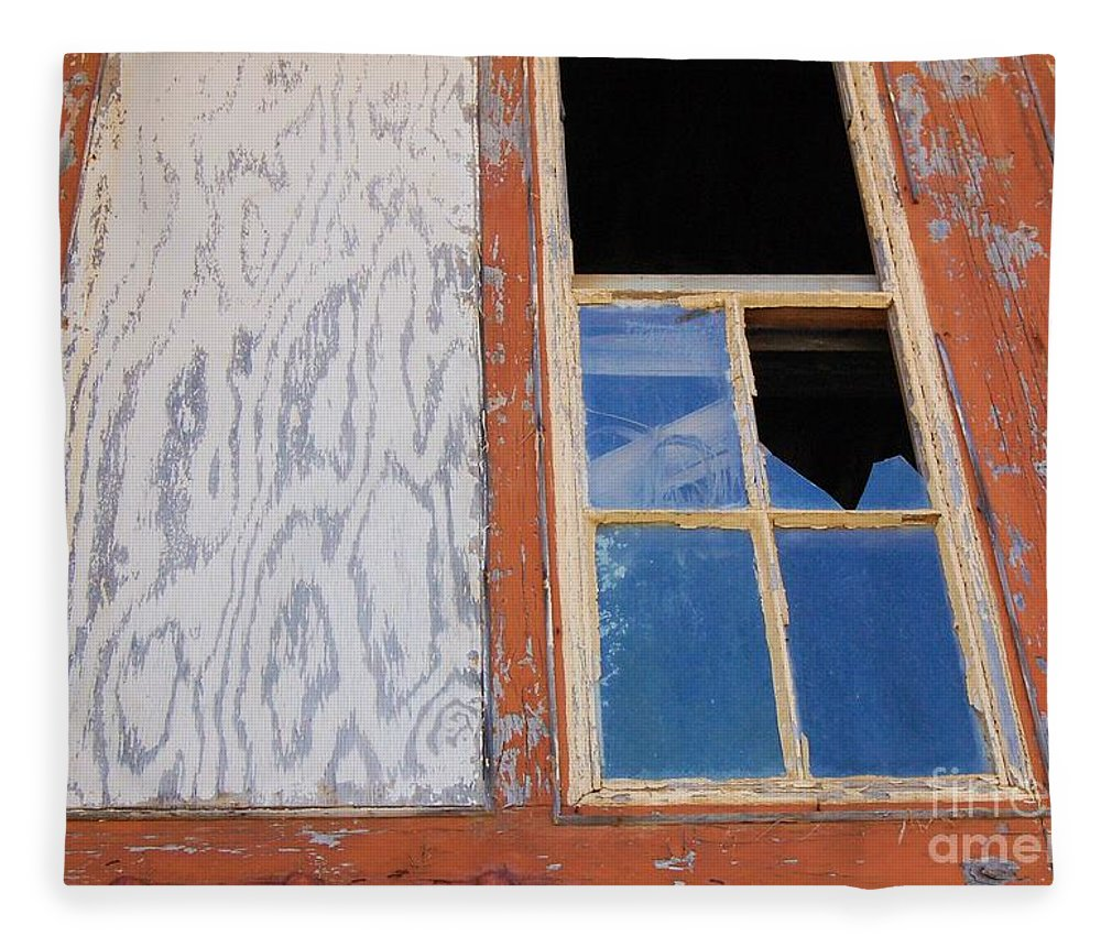 Window Fleece Blanket featuring the photograph Painless by Debbi Granruth