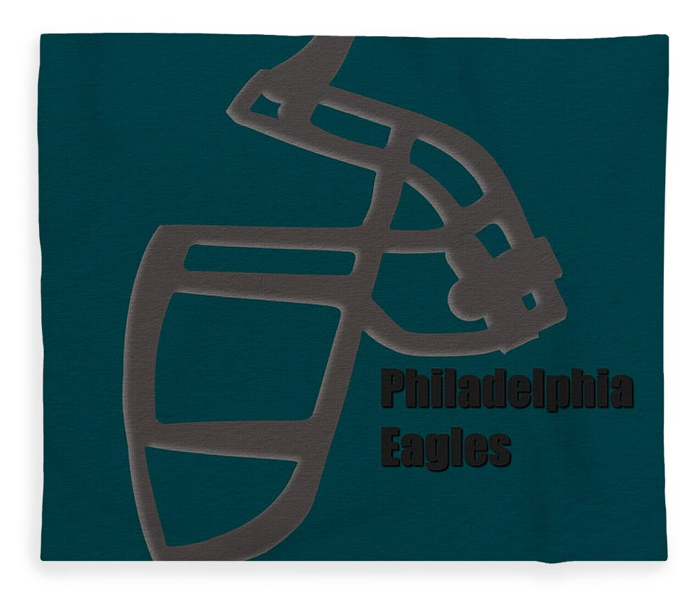 Eagles Fleece Blanket featuring the photograph Philadelphia Eagles Retro by Joe Hamilton