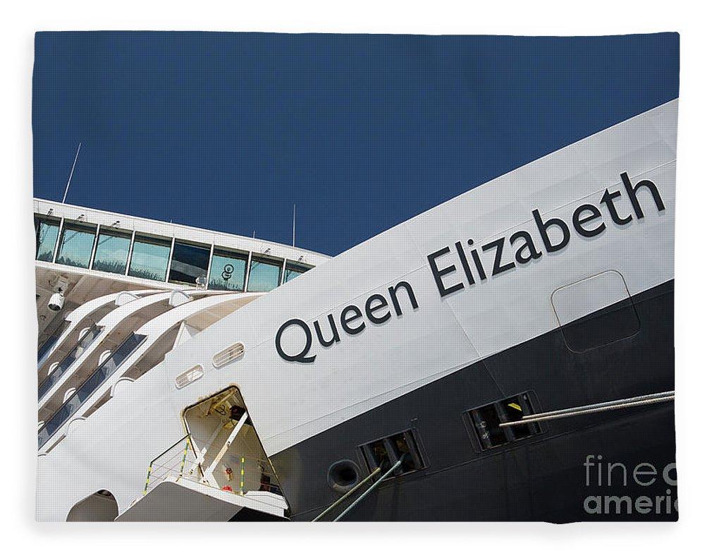Queen Eliabeth Fleece Blanket featuring the photograph Queen Eliabeth by Sheila Smart Fine Art Photography
